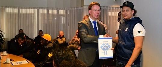 Stichting Waarheid J-team oorkonde